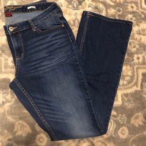 Boot cut Arizona jeans